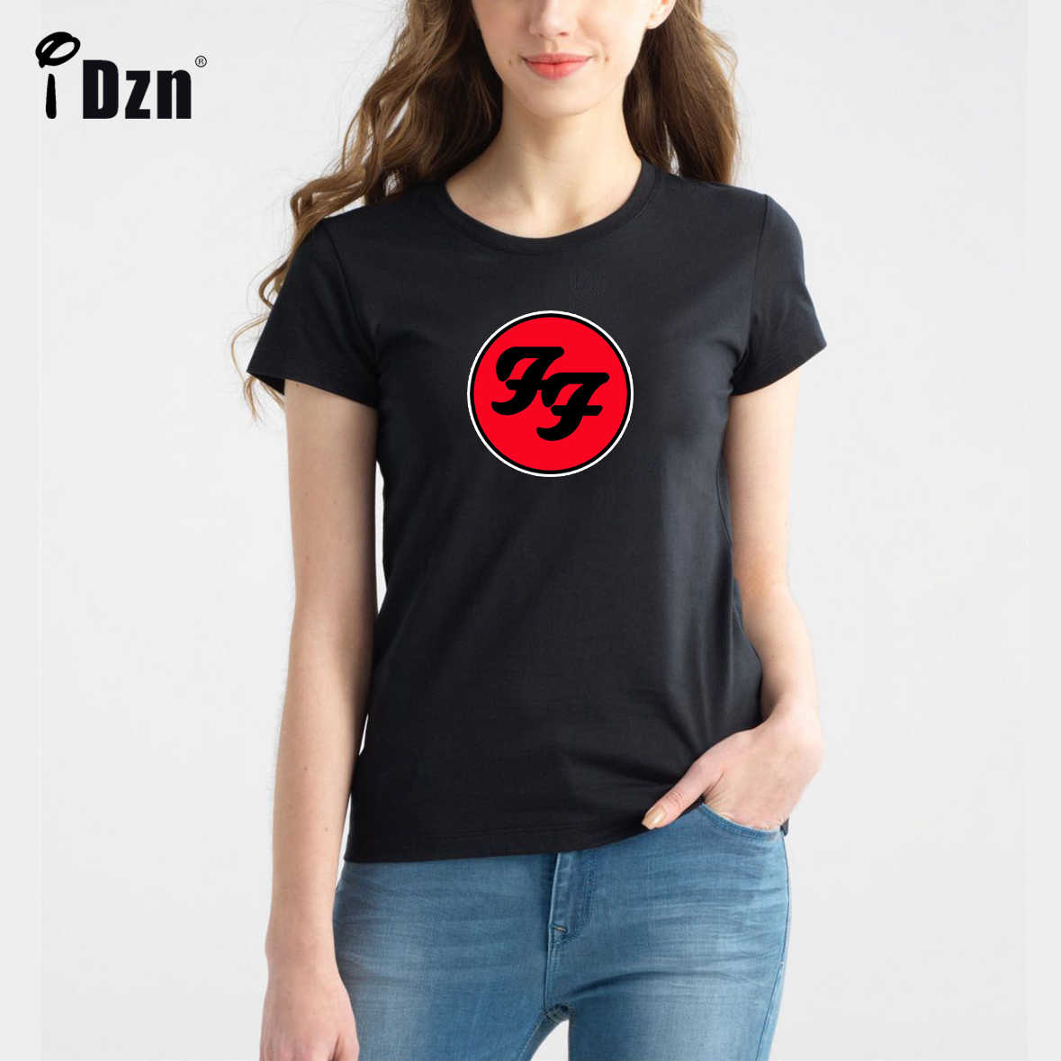 Summer Casual Women T-shirts Compton MUSE Joey Graceffa Foo Fighters Hard Rock And Roll Band Girl Short Sleeve Print Tees Tops