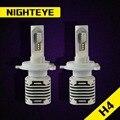 NIGHTEYE 12000LM H4 9003 HB2 Car LED Farol 80 W/Set Originais 40 W/Cada Lâmpada Oi/Feixe Lo Super Brilhante