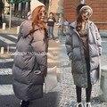 2016 зима новый хлопок куртка женщин большого размера дамы хлопка ватник хлопка куртки женщины толстый Капюшоном Пальто блудниц