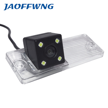 Free Shipping Car rear view Camera back up reverse Camera for GPS DVBT radio waterproof fully NTSC form For Kia cerato image