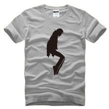 Michael Jackson Camisetas Homens MJ dança Impresso Camisa Dos Homens T de  Moda de Nova Manga f5ef5f99a