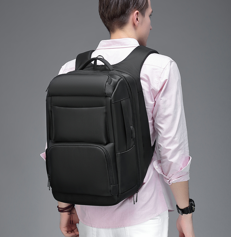 HTB1ZcB1XyYrK1Rjy0Fdq6ACvVXa9 - Mark Ryden 2019 New Anti-thief Fashion Men Backpack Multifunctional Waterproof 15.6 inch Laptop Bag Man USB Charging Travel Bag