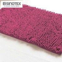 אדום רך שטיח אמבטיה שאגי שניל מחצלת שטיח רצפת חדר אמבטיה אזור שטיח מחצלת אנטי להחליק רצפת מים הוכחה footcloth שטיח 1 יח'\חבילה