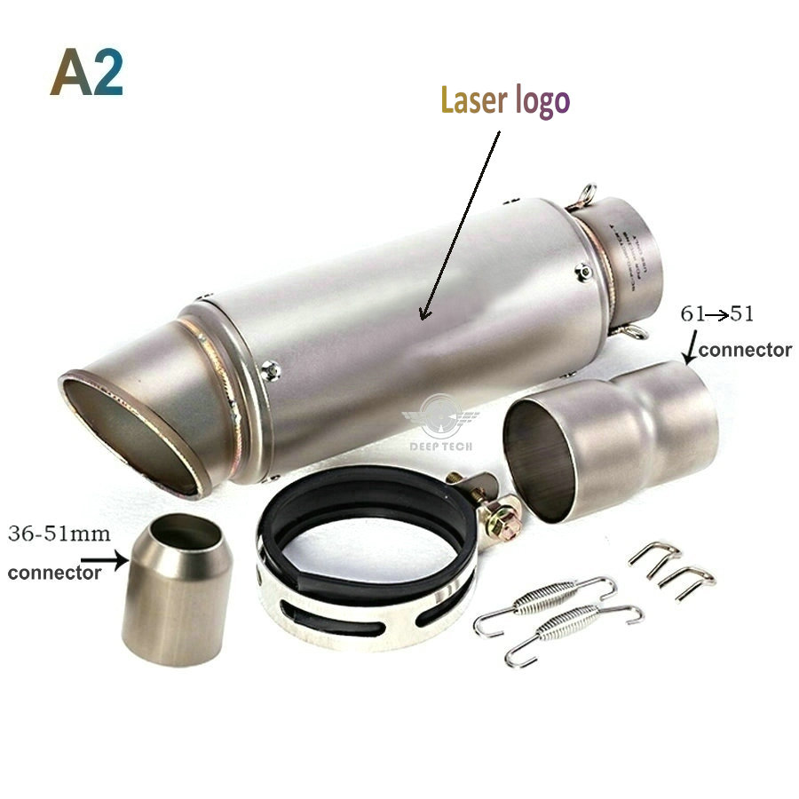 """1pc High Strength Flexible Graphite Car Mufflers 2/"""" Exhaust Gaskets to Manifold"""