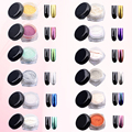 Bright 2g Mirror Effect Glitter Dust Magic Shimmer Nail Art Powder Tips Chrome Glitters Refinement