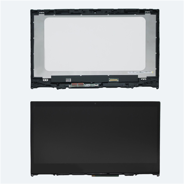 14'' FHD LED LCD Touch Screen Glass Digitizer Panel Assembly +Bezel