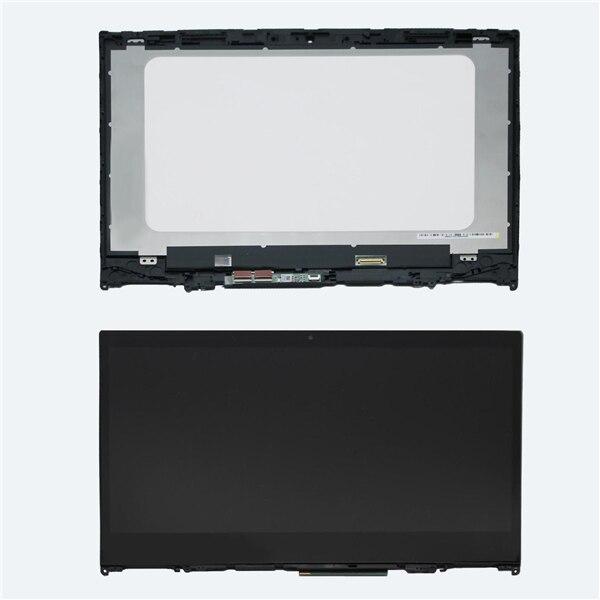 14'' FHD LED LCD Touch Screen Glass Digitizer Panel Assembly +Bezel For Lenovo Flex 5 14 yoga 520-14IKB все цены