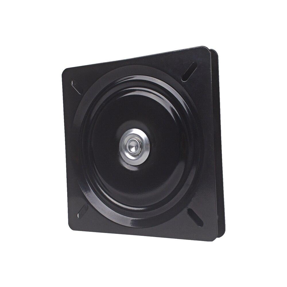 Hardware 195x2,0mm Metall Schwarz Kugellager Quadrat Schwenker Drehscheibe Stuhl Swivel Für Bar Hocker Stuhl