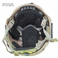 FMA Airsoft Tactical Protección Pad Para EXF Estilo de Combate Del Ejército Militar Rápido Casco Pad Accesorio Accesorios TB801