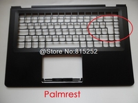 Laptop Palmrest For Lenovo 500 14 YOGA 500 14IBD Flex 3 14 Flex 3 1470 US UK Layout Upper Case Keyboard Bezel Cover New Original