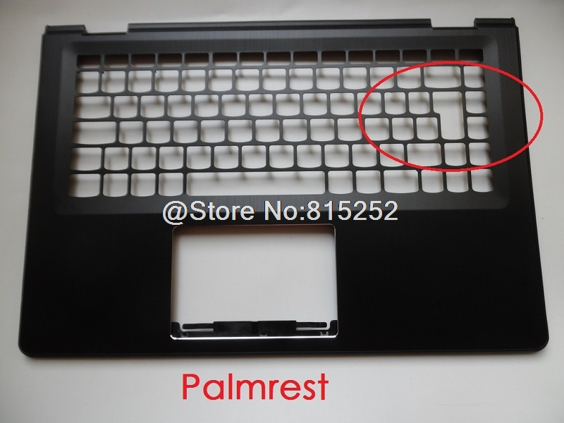 Laptop Palmrest For Lenovo 500-14 YOGA 500-14IBD Flex 3 14 Flex 3-1470 US UK Layout Upper Case Keyboard Bezel Cover New Original