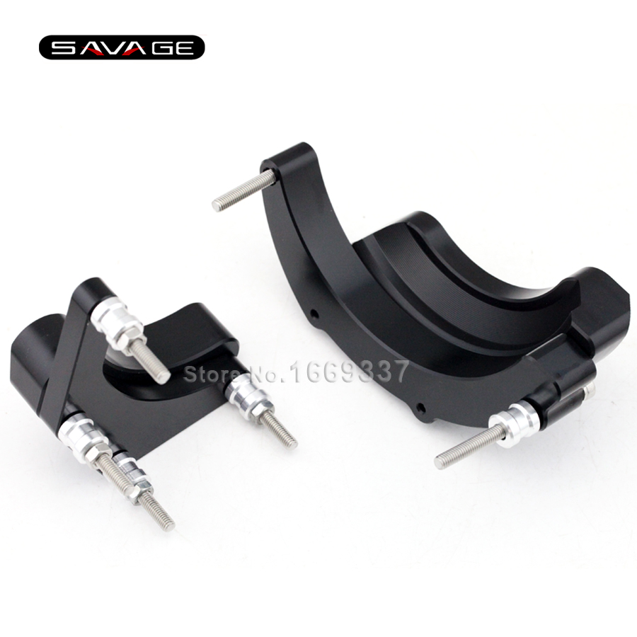 For YAMAHA MT09 Tracer FJ-09 XSR900 MT-09 FZ-09 2014 2015 2016 Motorcycle Engine Stator Case Guard Cover Protector Slider arashi 1 pair air intake inlet guard cover protector for yamaha mt 09 mt09 fz 09 2014 2015 2016 5 colors