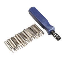 Profession 15 in1 Portable Precision Metal Screwdriver Repair Tool Kit T5 T6 T8 for Electronics -50
