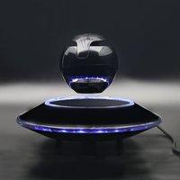 360 Rotation Magnetic Floating Bluetooth Speaker Light Suspension Ball Shape Speaker Light Flying Saucer Base Rotary