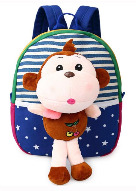 Nueva lindo mochila kids cartoon juguetes regalos de Los Niños de kindergarten schoolbag estudiante muchachas de los muchachos del bebé encantadores bolsos Mochila