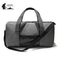 HIGHSEE Outdoor Fitness Bag Women Gym Fitness Bag Large Gym Bag Travel Bag Light Handbag Sport
