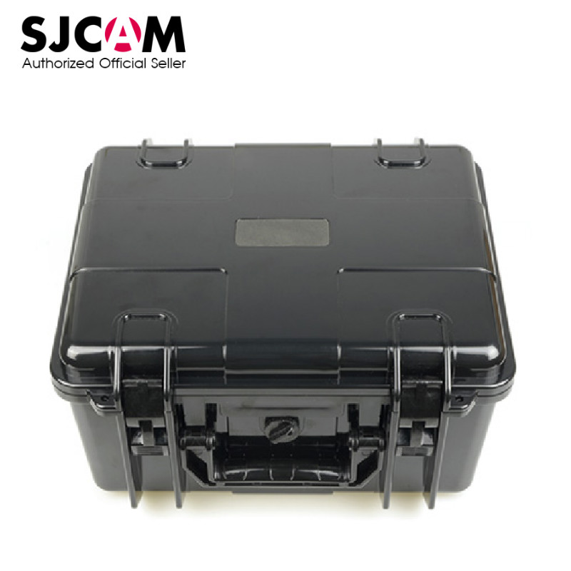 Original SJCAM Sports Action Camera Storage Box Large Capacity Portable White and Black For Outdoor Travel large capacity suitcase explosion proof travel transport portable safety box storage case bag for dji spark accessories pgytech