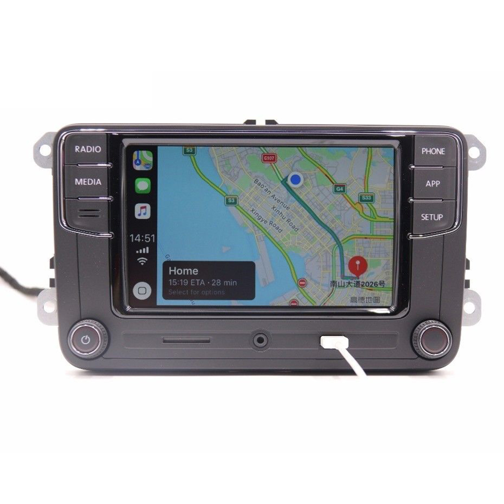 For VW Volkswagen Golf 5 6 Jetta CC MK6 MK5 Tiguan Passat B6 B7 6RD 035 187B Desai Carplay <font><b>RCD330</b></font> 330G Plus 6.5