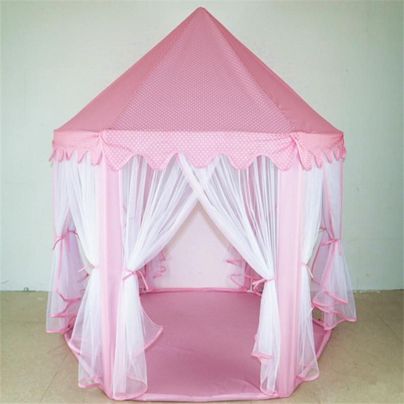 jugar castillo de la princesa nios actividad carpa porttil casa de hadas divertido de los cabritos