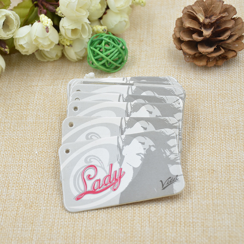 Exquisite custom clothing tag trademark trademark custom paper factory direct production