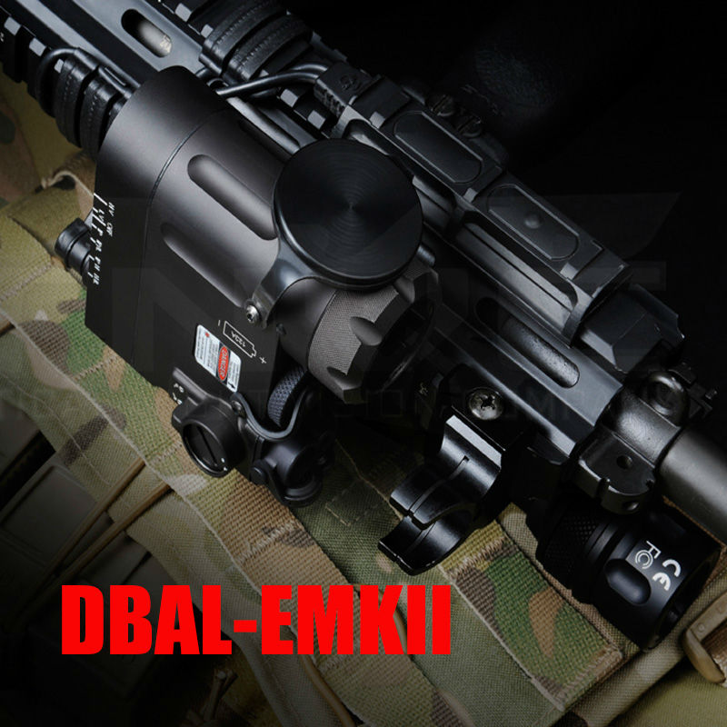Tactical Flashlight DBAL-D2 IR Laser and Led Torch DBAL-EMKII Weapon Light 20mm rail