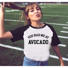 Cute Summer Avocado Vegan women shirt