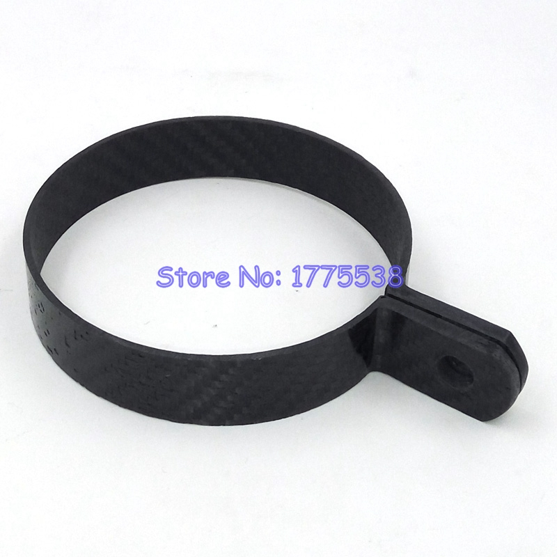Free Shipping 9cm 10 2cm Diameter Carbon Fiber Motorcycle Exhaust Pipe Clamps for Round Motorbike Exhaust