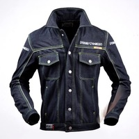 New arrival Motorcycle Denim riding protector jacket Free Yogin JK715