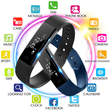 Smart Wristband Fitness Tracker Band Bluetooth Sleep Monitor Watch Sport Waterproof Bracelet for Ios Android Phone Pk Mi Band 2 все цены