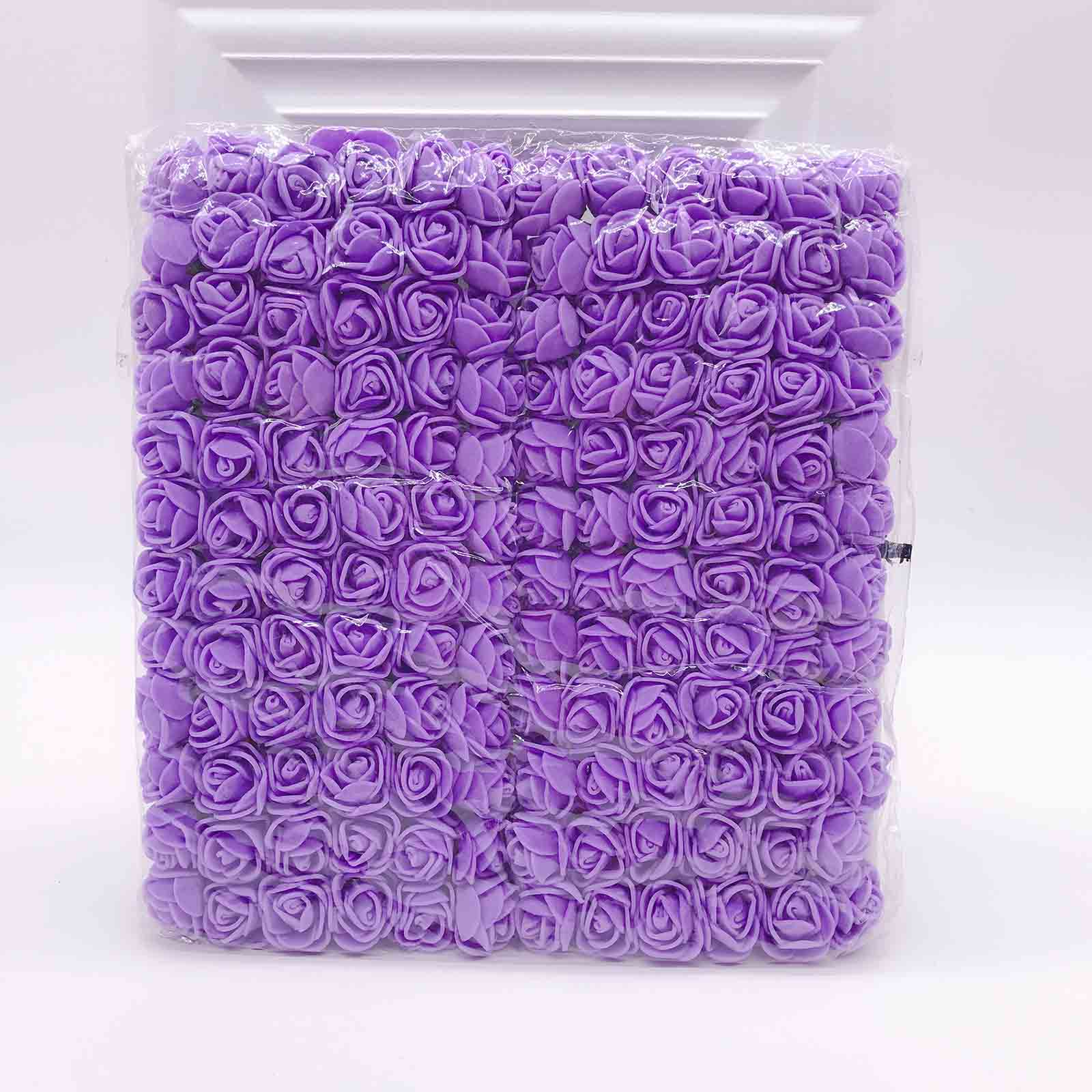 144 шт 2 см мини-розы из пенопласта для дома, свадьбы, искусственные цветы, декорация для скрапбукинга, сделай сам, венок, Подарочная коробка, дешевый искусственный цветок, букет - Цвет: 2