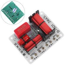 Filtros do cruzamento da unidade do altifalante 3 do divisor da frequência audio da maneira do orador 3 de 12 v 150 w com 1000 hz-5000 hz para oradores