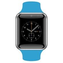 Mujeres de los hombres de Pulsera Bluetooth Reloj Inteligente Deporte Smartwatch Para Android Teléfono Con Cámara SIM reloj inteligente en Caja Al Por Menor