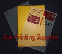 ФОТО ID card making material Gold Color Blank Inkjet print PVC sheets A4 size 50pcs 0.78mm thick: 0.25mm+0.28mm+0.25mm