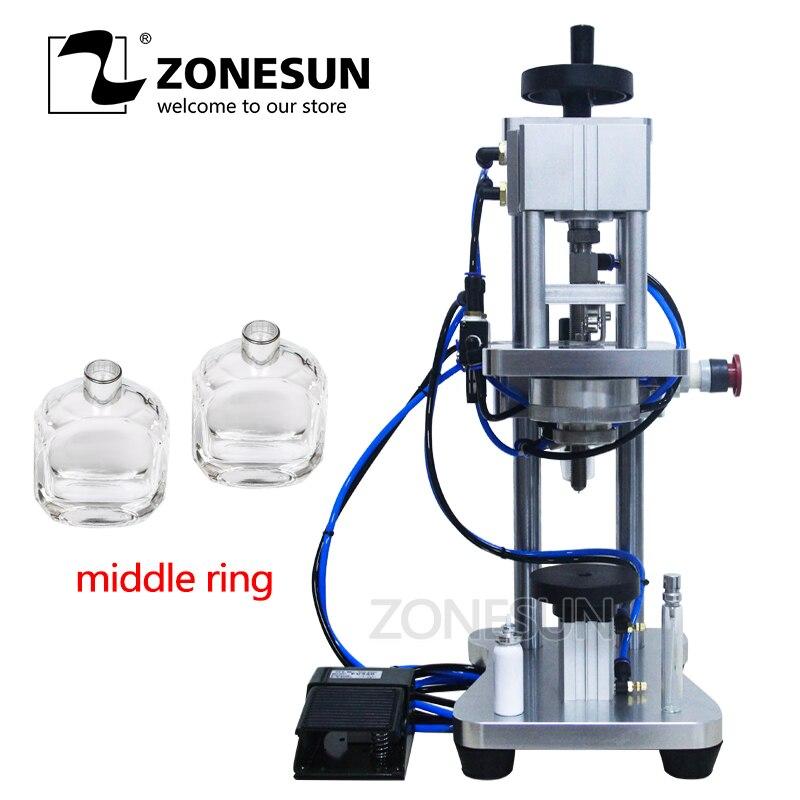 Capper Parfüm Crimper Capping Maschine Spray Crimper 100% Garantie Einfach Zonesun Manuellen Crimpen Maschine Metall Kappe Presse Maschine