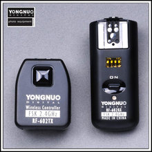 YONGNUO RF-602 2.4GHz Wireless Remote Flash Trigger for Nikon without shutter release cable camera remote shutter cable release for nikon fuji kodak black