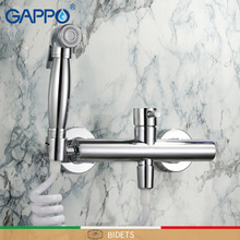GAPPO Bidets chrome Cold and Hot hygienic shower bidet muslim shower bidet mixer anal cleaning bidet toilet faucet цены онлайн