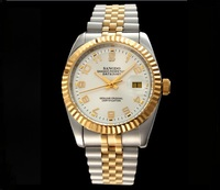 37.5 milímetros relógio de Negócios movimento Automático Auto-Vento relógio dos homens de Alta qualidade relógios Mecânicos Automáticos data sd299-s8