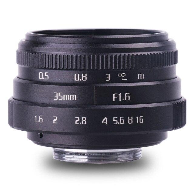 Neue kommen fuji eine 35mm f1.6 C mount kamera CCTV Linsen II für N1 fuji film fuji NEX Micro 4/3 EOS B