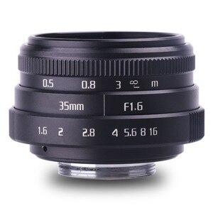 Image 1 - new arrive fujian 35mm f1.6 C mount  camera CCTV Lenses II for N1 Fujifilm Fuji NEX Micro 4/3 EOS B