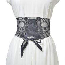 цена на Cross-Border Special Heating Sales New Ladies Wide Belt Ladies Baitao PVC Transparent Lace Printing