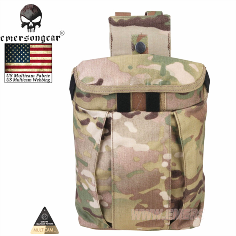 Emersongear Dump Pouch Mag Pouch Molle Tactical Accessories Emerson Tactical Magazine Pouches Multicam EM9042 Coyote Brown Black