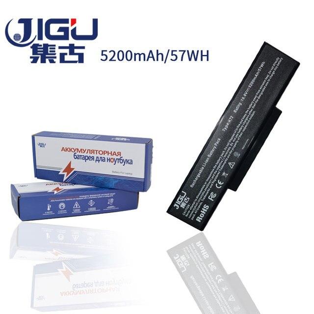 JIGU 6 תאי מחשב נייד סוללה A32-K72 A32-N71 עבור Asus K73E K73J K73JK K73S K73SV N71 N71J N71JA N71JQ N71JV N71V n71VG N71VN N73