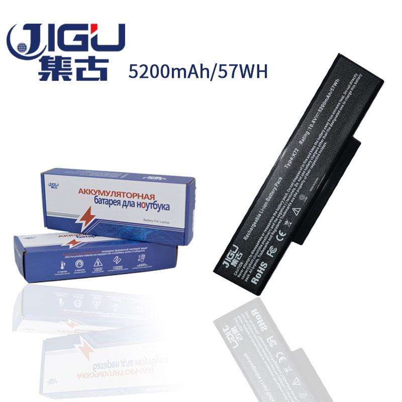 JIGU 6 Cells Laptop Battery A32-K72 A32-N71 For Asus K73E K73J K73JK K73S K73SV N71 N71J N71JA N71JQ N71JV N71V N71VG N71VN N73