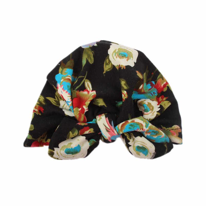 น่ารักทารกแรกเกิดหมวกเด็กทารกเด็กวัยหัดเดินเด็กทารกเด็กทารกเด็ก Turban หมวกผ้าฝ้าย Beanie หมวกฤดูหนาวหมวก casquette enfant สำหรับเด็ก dla dzieci