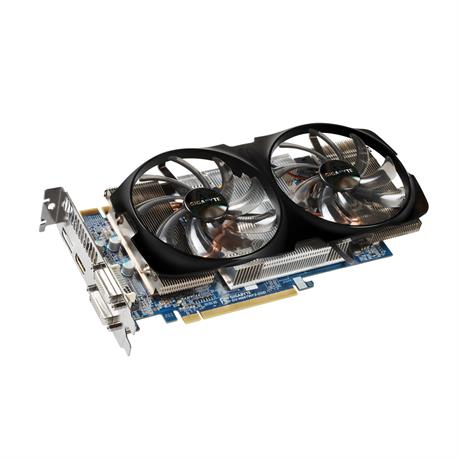 Gigabyte GV-N66TWF2-2GD Graphics Cards 192bit GT 660 2 GB GDDR5 HDMI 2*DVI  For Nvidia Geforce GT660 Original Used Video Card(China)