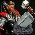 1:1 Масштаб Full Metal Тор Тор Молот Мьельнир 1/1 Реплика Пользовательские Косплей Молот Коллекция Модель Игрушки Мстители Quake WU568