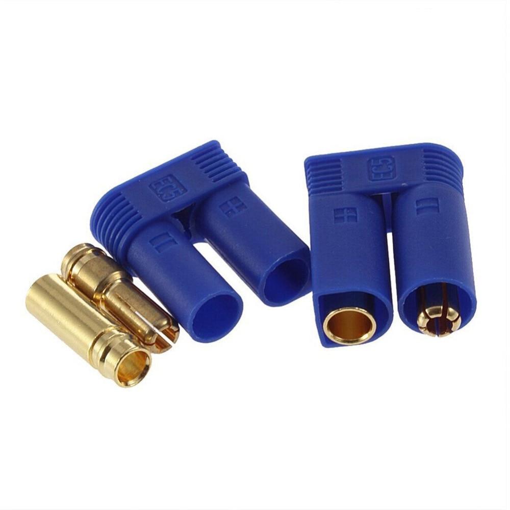 5set/lot EC3 3mm/EC5 5mm Male-Female Type Battery Connector Golden Battery Connector Bullet Plug