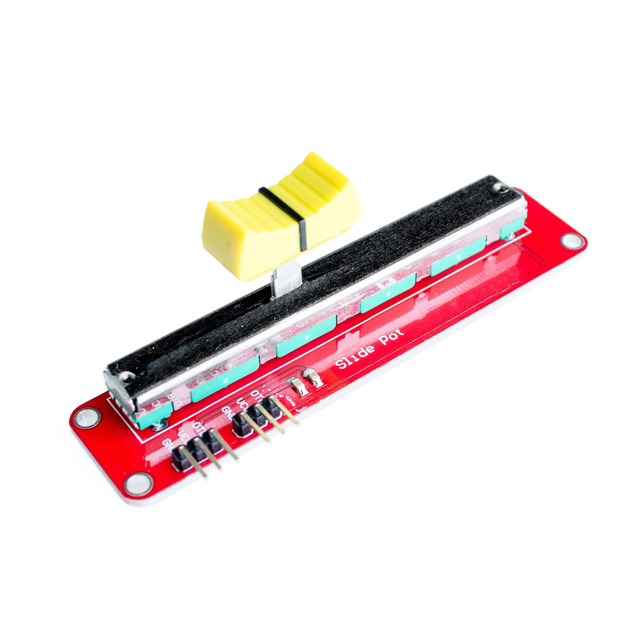 Hot Electronic Block 10K Sliding Slider Potentiometer Module For MCU For ARM For Other Single Chip Micro Wholesale