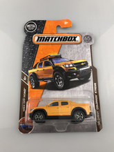 New 2018 Matchbox 1:64 Chevy Colorado Xtreme Metal Diecast Cars Kids Toys Vehicle for Children Models(China)