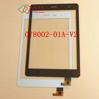 7.85 polegada para TeXet TM-7855 3G tablet pc tela de toque capacitivo painel de digitador de vidro P/N RS7F383_V1.1
